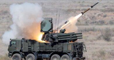 """מקורות צבאיים רוסיים: מערכות נ""""מ פנטסייר-אס Pantsyr-S ו-באק אם Buk-M2, יירטו שבעה מתוך שמונה הטילים שהמטוסים הישראליים שיגרו בהתקפה ליד חאלב"""