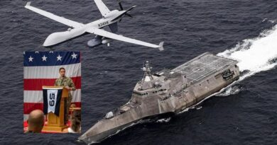 """ארה""""ב הקימה במפרץ מול איראן כוח משימה ימי-אווירי רובוטי המופעל על ידי בינה מלאכותית AI.  חיל הים הישראלי יצטרך להתאים את עצמו לטכנולוגיות החדשות"""